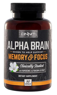 Nootropics Alpha Brain Supplement